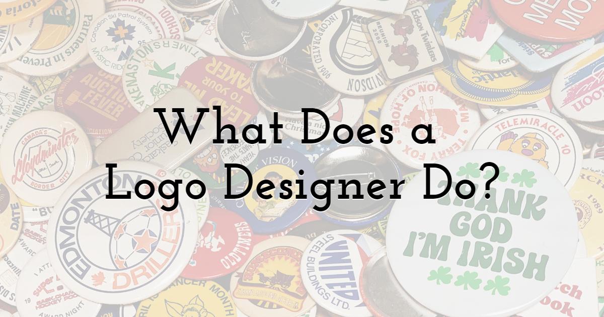 What Does a Logo Designer Do?