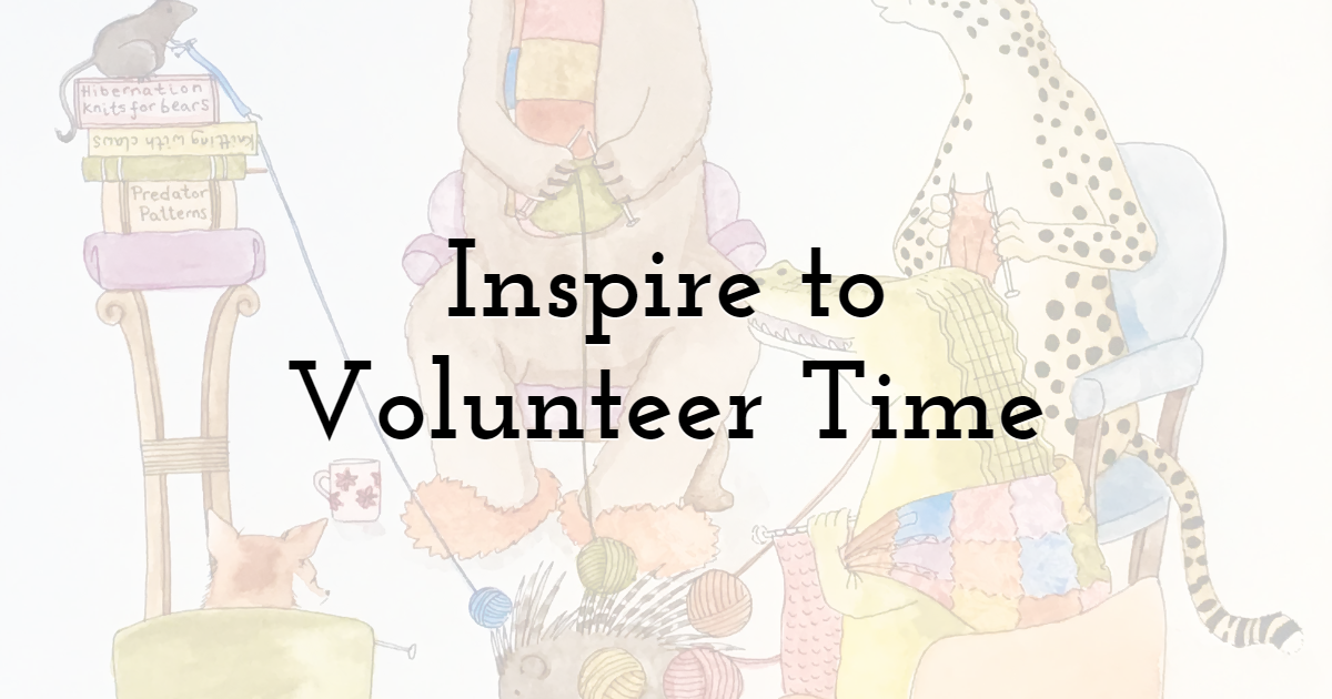 Inspire Visitors to Volunteer their Time
