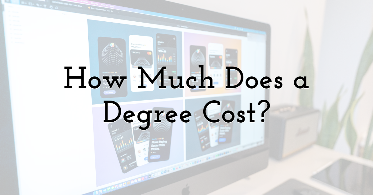 How Much Does a Web Design Degree Cost?