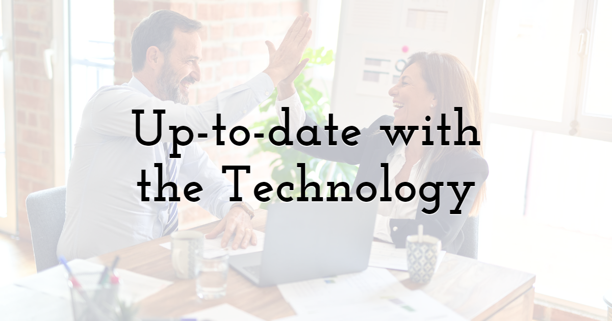 Is The Company's Infrastructure Up-to-date With Existing Technology?