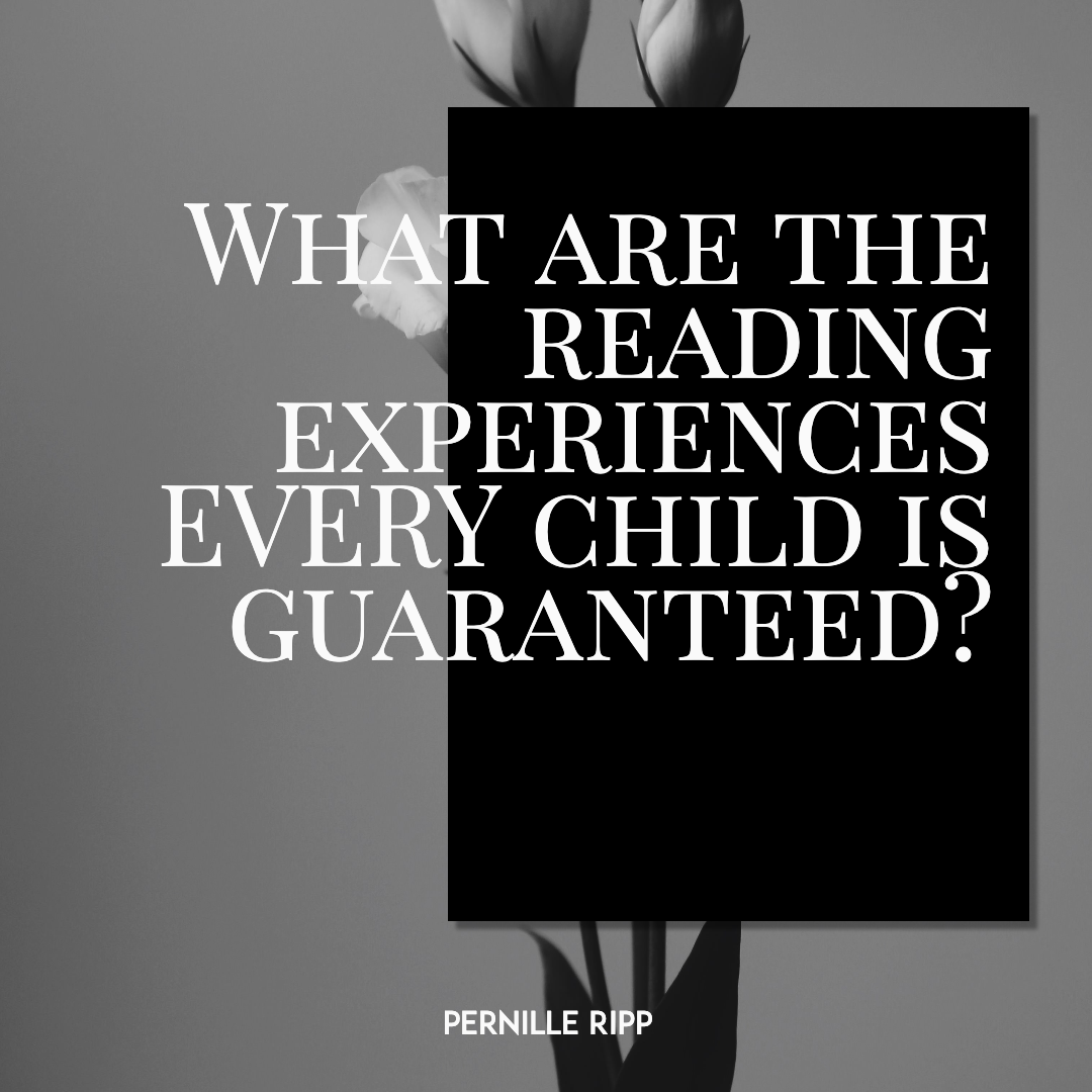 What are the reading experiences Design