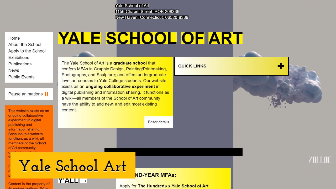 Yale School Art