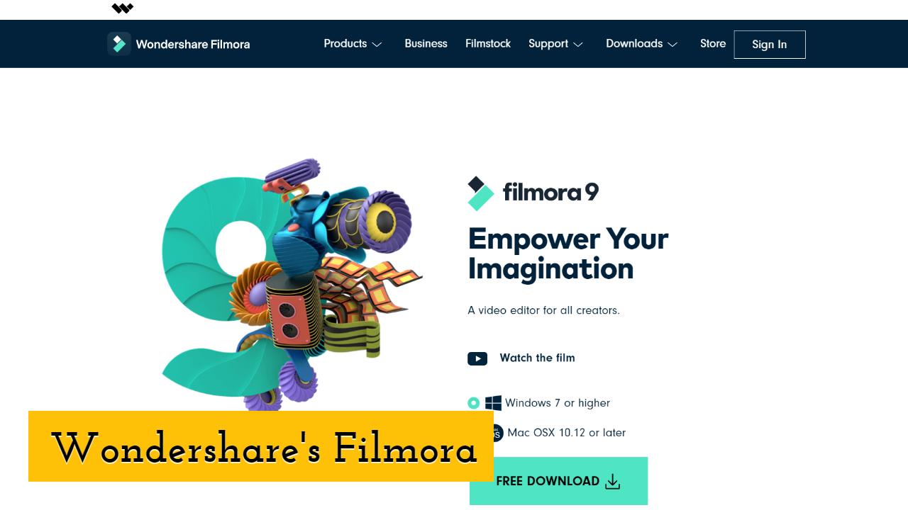 Wondershare's Filmora
