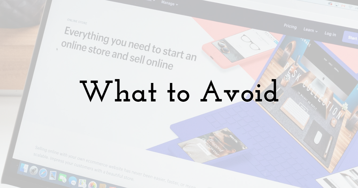 What to Avoid While Constructing Your Email Marketing Template