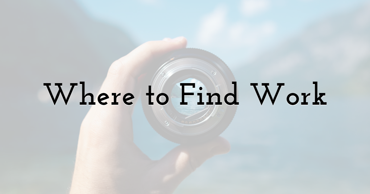 Where to Find Work