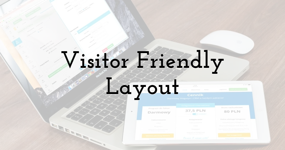 Visitor Friendly Layout
