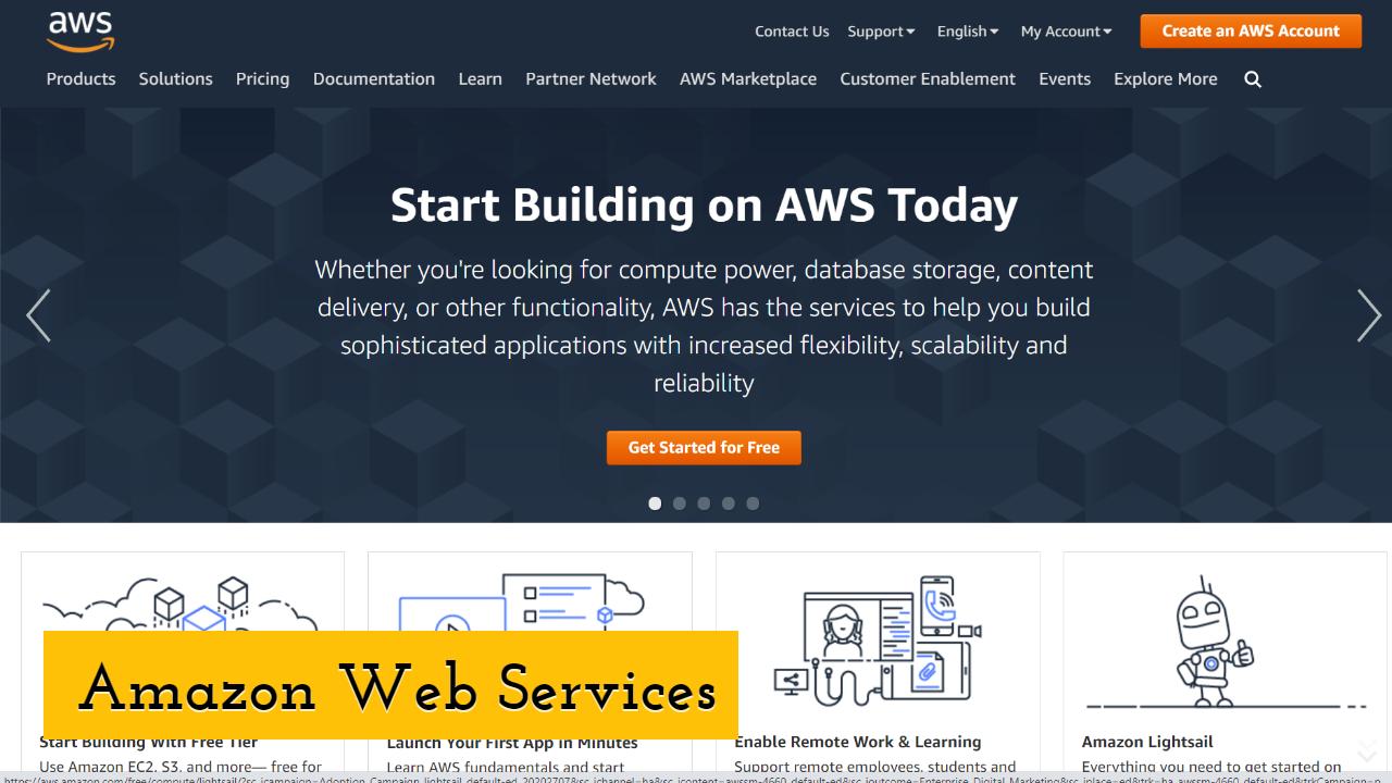 Amazon Web Services or AWS