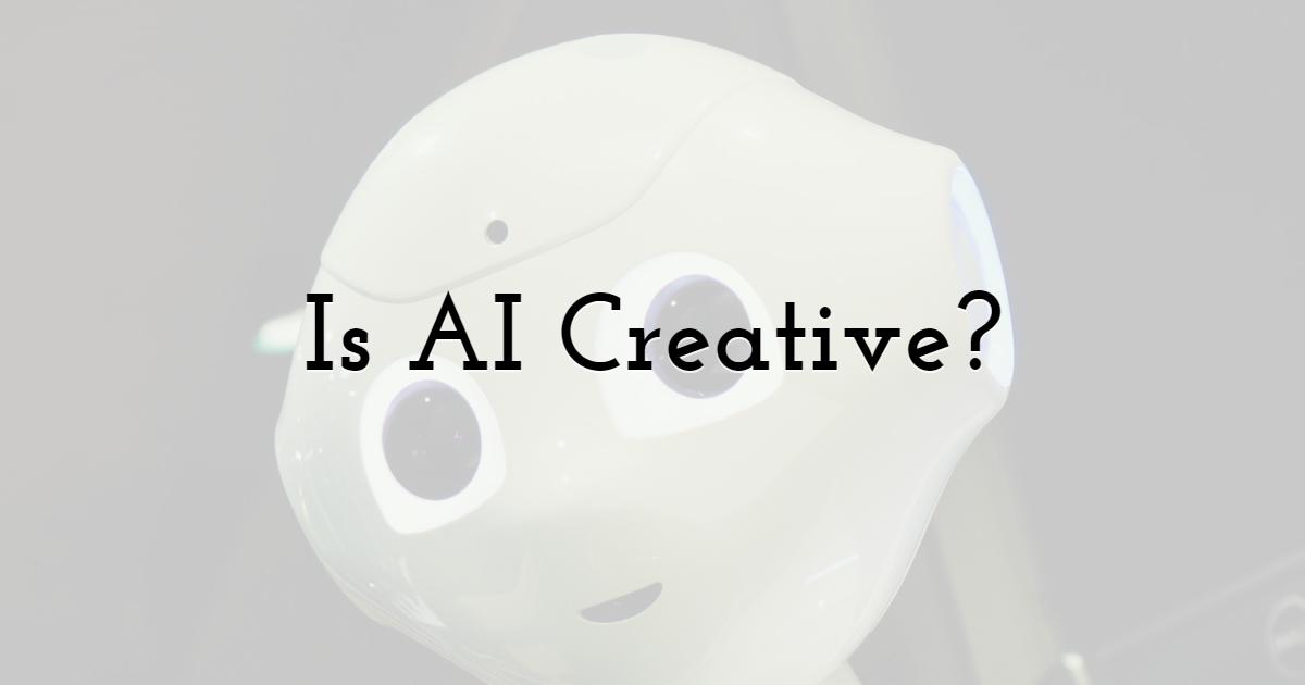 Is AI Creative?