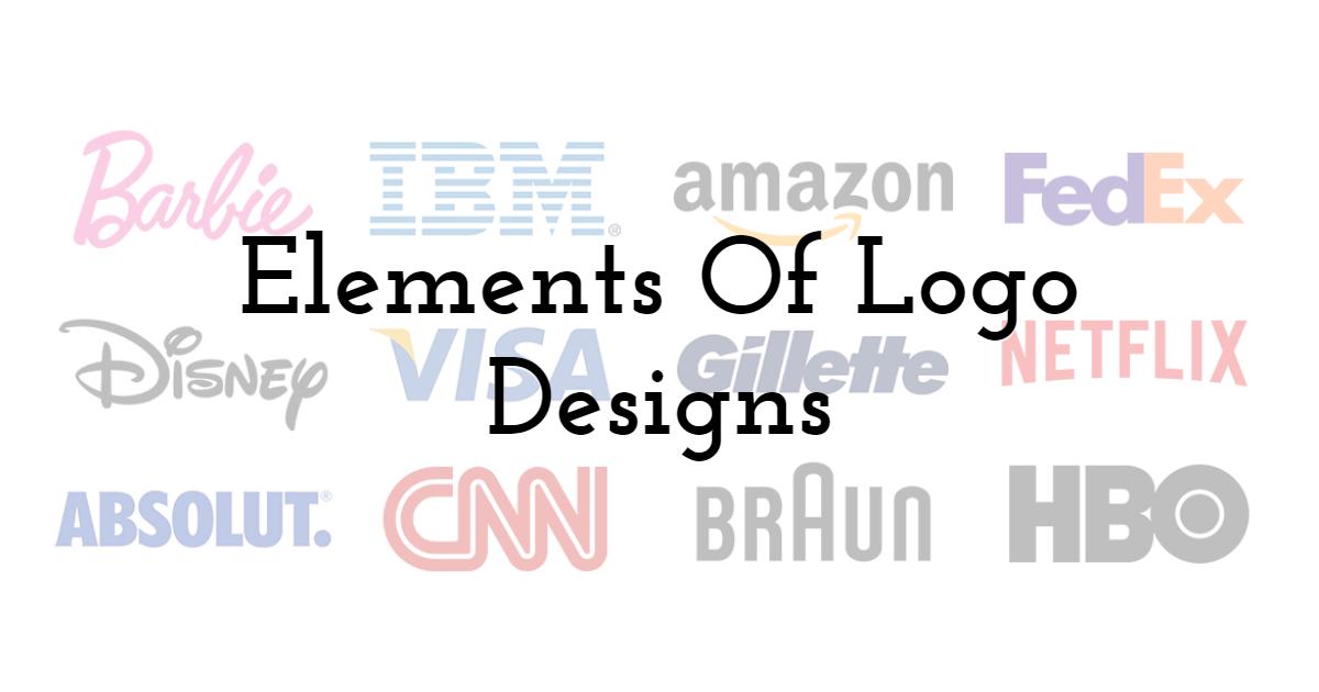 Elements Of Logo Designs