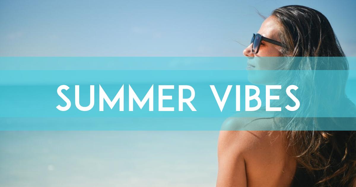 Summer vibes card design - #summer Design  Template