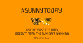 Card design - sunshine #poster #quote #sunglass