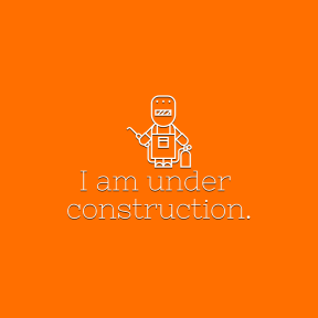I am under construction template #Quote #Poster