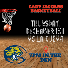 Invitation easy to edit on PixTeller - #calltoaction #invitation #announcement GIRL BBALL - Lady Jaguars Basketball
