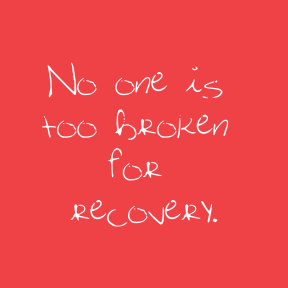 Simple quote square card easy to customize - #recovery #love #quote #simple