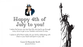 Anniversary design template - 4th of July superman message #4thofjuly #happyforthofjuly #independenceday #independence #day #america #anniversary