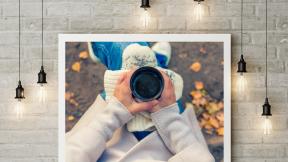 Mockup with Photo design card - #mockup #inspiration #life #photo #image #frame