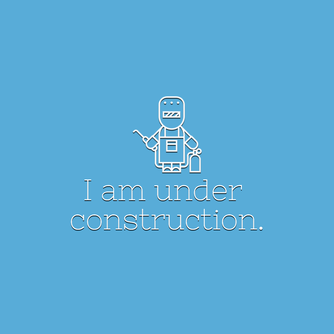 I am under construction #Quote Animation  Template