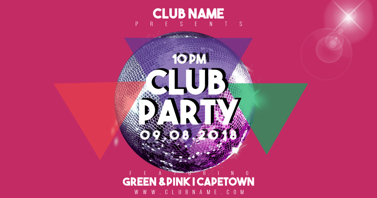 Party, Invitation, Clubposter, Poster, Fun, Dance, Promo, Sales, Calltoaction, Red,  Free Image