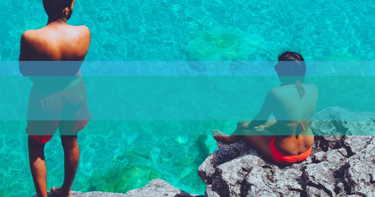 Summer, Ocean, Beach, Fun, Vacation, Vibes, Waves, Sea, Poster, Black, Aqua,  Free Image